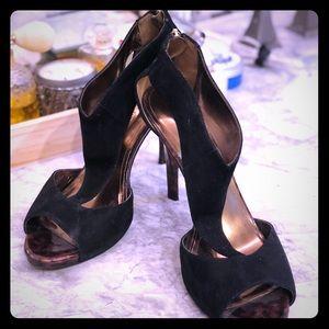Glamorous black stiletto heels!